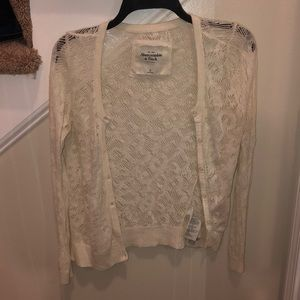Abercrombie and Fitch Lace Cardigan
